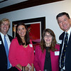 Doug Kelly '92, Rachel Kelly, Alissa Stribling and Charles Stribling '71