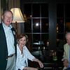 Ed Michaels '60 with Jane & Sam Hollis '47.