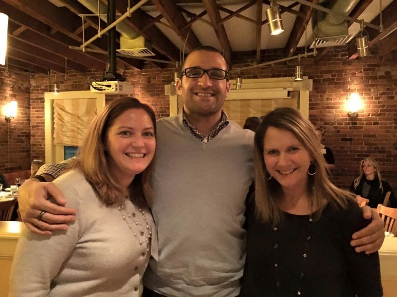 Alumni in the late 80's gathered in Boston at LaMorra, a restaurant owned by Josh and Jennifer Schneider Ziskin '89, for dinner and wine tasting. It was a great reunion among friends!