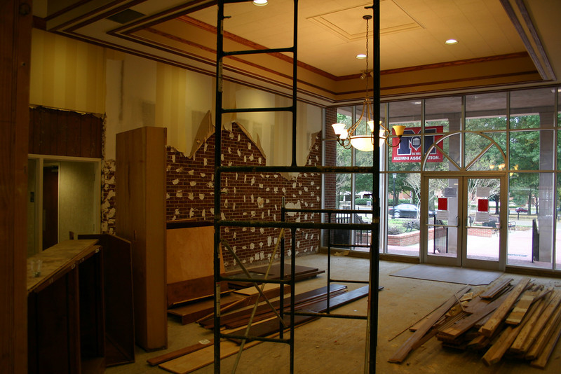 Triplett Alumni Center Lobby. 10-22-09