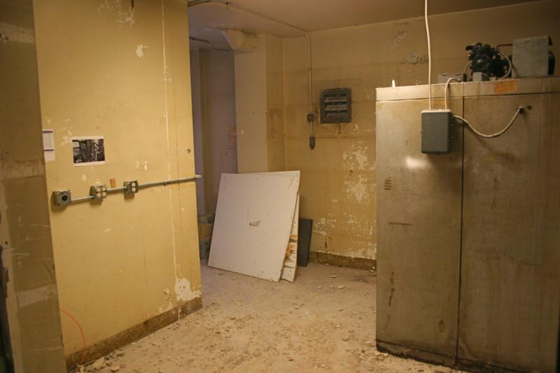 Former kitchen storage. 11/2/09