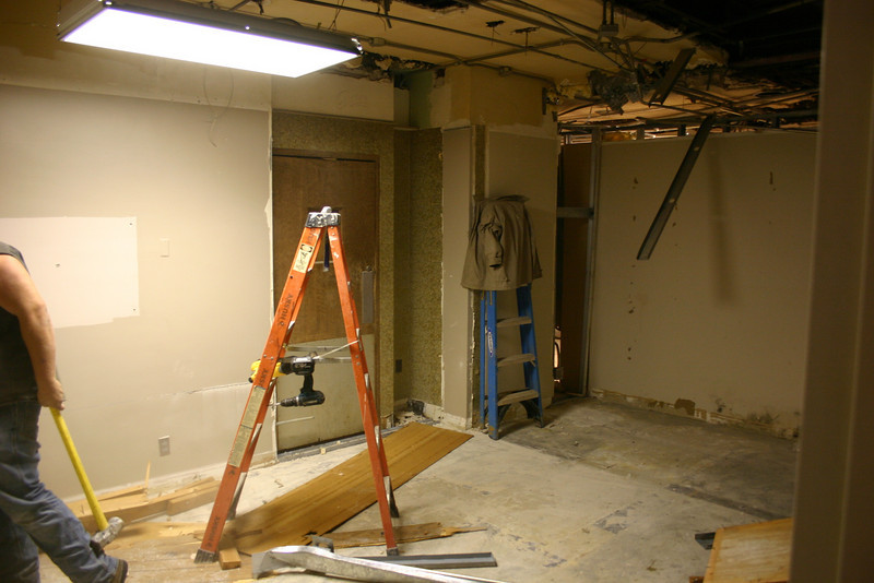 This space will be transitioned into part of the new records office. 10/27/09