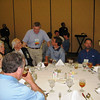 Dean Sam Davis visits with attendees