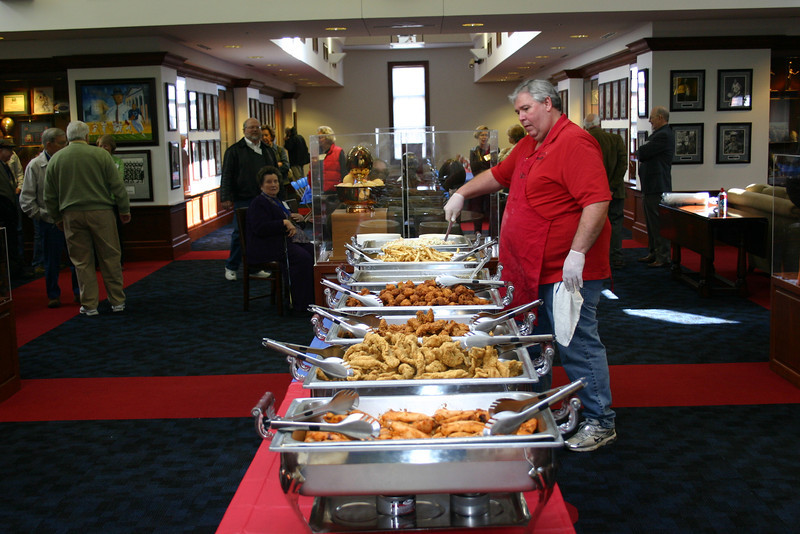 Taylor Grocery catered this year's lunch