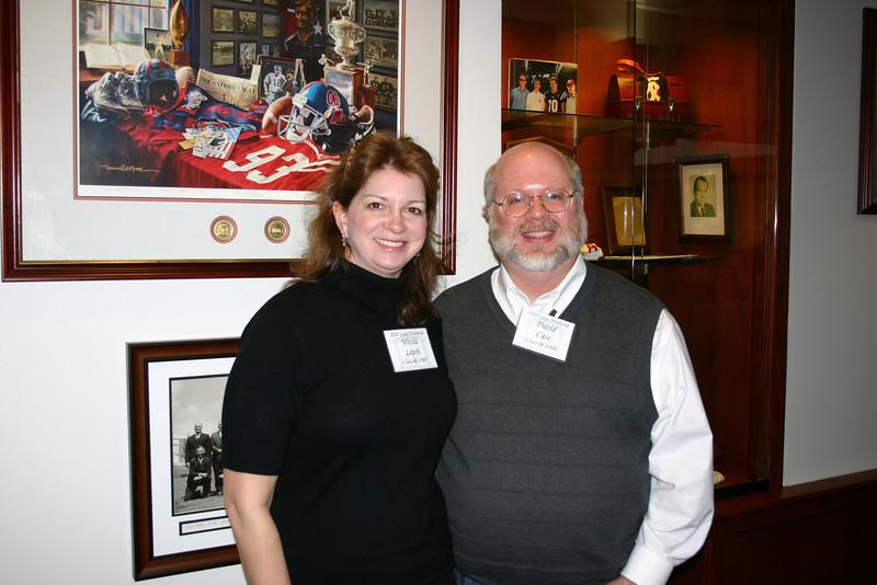 Alumna Wesla Sullivan Leech and Law Professor David Case