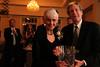 Dean Gershon presents Tom Bourdeaux's award to his widow, Norma