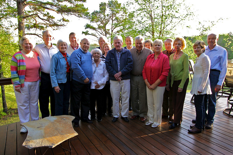 Members of the law school class of 1960 and their spouses