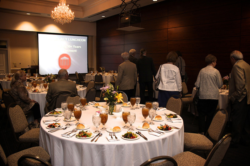 The Legal Legacy Luncheon is for School of Law alumni who are celebrating 50+ years