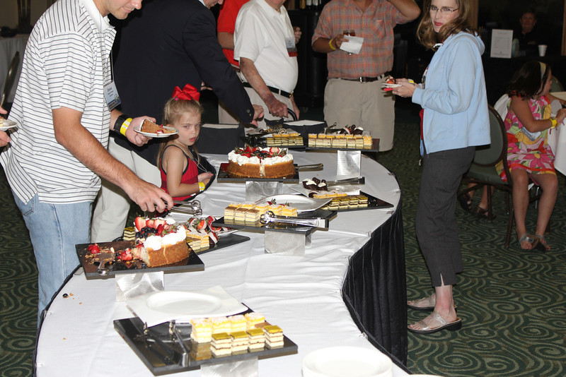 Variety of sweet treats for attendees of all ages