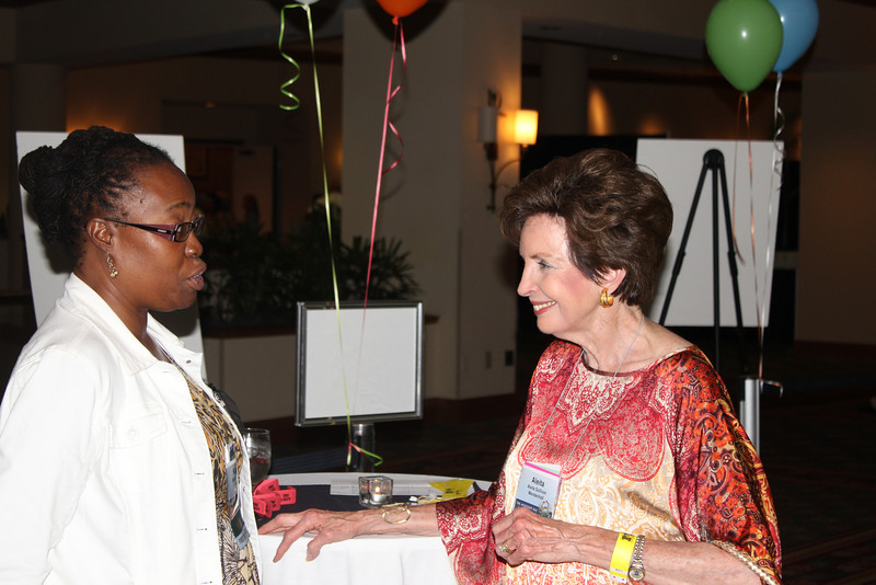 Assistant Director of Career Services Karen Peairs with Aleita Sullivan (JD 65)