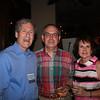 Dean Richard Gershon with event sponsors Jim and Melinda Koerber