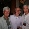 MS Supreme Court Justice Mike Randolph (JD 74) with Jim Warren (JD 87) and John McCullouch (JD 78)