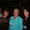 Meridian Mayor Cheri Barry (BAEd), Emily Allen and Shari Gaines (BA 84)