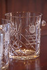 Alumni inducted into the UM Law Alumni Hall of Fame receive etched crystal ice buckets.