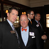 Jamie White (BA 96, JD 00) with Mark Adams (JD 81) a partner in Jones Walker's New Orleans office; one of the event's sponsors.
