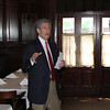 Dean Richard Gershon provides a law school update for alumni attending a luncheon in New Orleans.