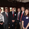 Bill Hester (BBA 69, JD 74), Jason Bone (JD 02), Matthew Sharpe (BA 07, JD 10) and Alysson Mills (BA 02, JD 08) were among some of the law alumni at the luncheon.