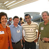 "Aleita Sullivan (JD 65), Matt Black (JD 09), Nirav ""Ralph"" Patel (BA 06, JD 09) and Dean Richard Gershon"