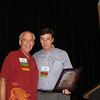 2012 UM Law Alumnus of the Year Scotty Welch (LLB 64) with Law Alumni Chapter president Bobby Bailess (BBA 73, JD 76)