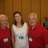 Lamar Order Chairman Don Fruge' (BBA 67, JD 70) with Virginia LoCoco (BBA 84, JD 87) and Joe LoCoco (BS 80, JD 85)