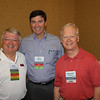 Cham Trotter (BA 69, JD 72) with Law Alumni Chapter president Bobby Bailess (BBA 73, JD 76) and 10th District Chancery Judge Ron Doleac (JD 72)