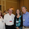 Emily and Harry Allen (BBA 55, LLB 59) with Donna Levine and her husband, Dean Richard Gershon