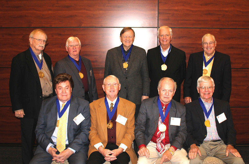 The class of 1963 received Legal Legacy medallions during a weekend in which they celebrated their 50th reunion.