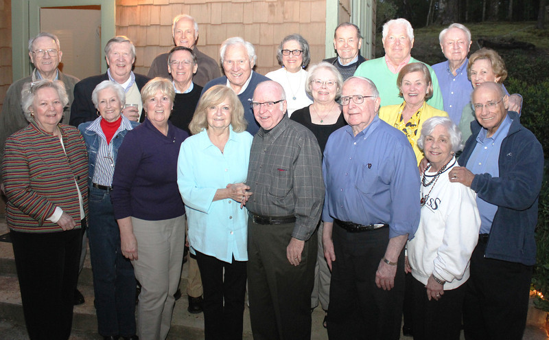 Members of the class of 1960 and their spouses