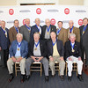 Legal Legacies attending the luncheon included sitting: Barney Eaton (LLB 60), George Cossar (LLB 60), Roger Flynt (LLB 64), Micheal Corrigan (LLB 64) standing: Pat Scanlon (LLB (60), Sherman Muths (LLB 60), Tom Lilly (LLB 60), Walter Blessey (LLB 64), Scotty Welch (LLB 64), Lucius Dabney (LLB 49), Lee Davis Thames (LLB 60), Fred Wicker (LLB 48), Jim Herring (LLB 63) and Ken Wooten (LLB 60)