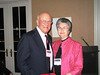 Dean Barbara Wells with Stein Baughman (BSPh 59), who was celebrating his 50 year reunion