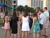 Pharmacy students enjoy the Pharmacy Alumni Chapter reception