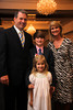 2011 School of Pharmacy Distinguished Alumnus David Hudson with his family