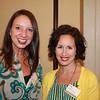 Associate Dean Dr. Leigh Ann Ross (BBA 93, PharmD 98) and Pharmacy Alumni Chapter President Dr. Jillian James Foster (BSPh 02, PharmD 04, MBA 08)