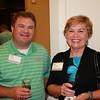 Bill Calhoun (BSPh 89) and Carol Reynolds (BSPh 74)