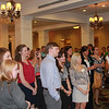 Attendees at the reception included many students who are in the professional program at the Jackson campus.