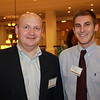 Dr. Kris Harrell (PharmD 98, MAEd 10) with professional student Michael Noggle (BSPhSc 10)