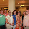 Among the attendees was 2012 School of Pharmacy Distinguished Alumna Dr. Kristie Gholson (BSPh 77) [third from left].