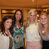 Dr. Leigh Ann Ross (BBA 93, PharmD 98) with professional students Callie Lyons (BSPhSc 10), Ann Clark Gannaway (BSPhSc 10) and Katie Ellen Langley (BSPhSc 11)