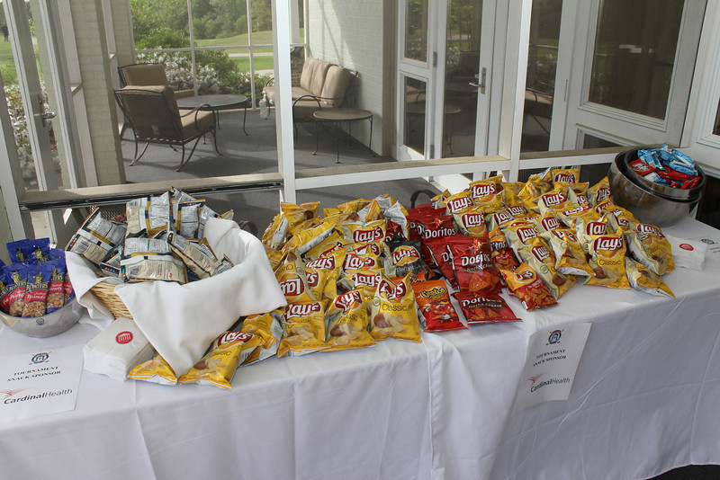 Tournament snacks were sponsored by Cardinal Health.