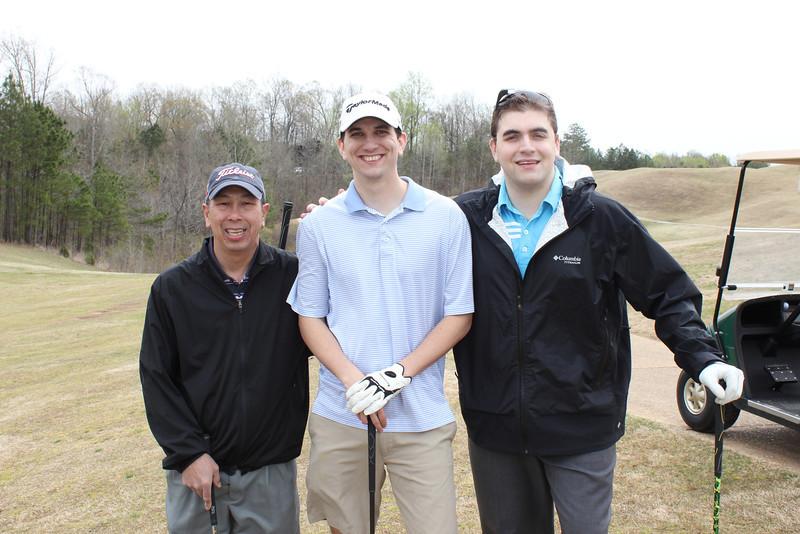Keith Gong, Nathan Rucker and George Cibulas
