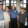 Eddie Mullins (BSPh 73), Raina McClure, Johnny Odom (BSPh 70), Rhonda Dunaway (BSPh 91) and Dean David Allen