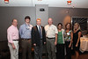 Sid Seal, Kevin Hodges (PY2 Student), Dean David Allen, John Cleary, Pooja Patel (PY4 Student), Susan McCoy and Cheri Atwood