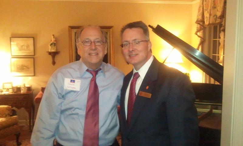 David Solomon and Dean David Allen
