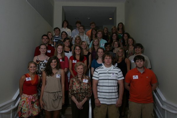 Alumni Scholarship Dinner 2008