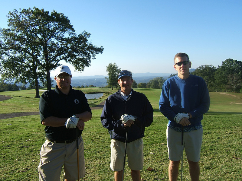 A total of 38 McCallie Alumni & guests joined in a golf tournament at Lookout Mountain Golf Club on Saturday, Oct. 2.