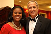 Kimbrely Dandridge, ASB President & Richard Noble, Alumni Association President