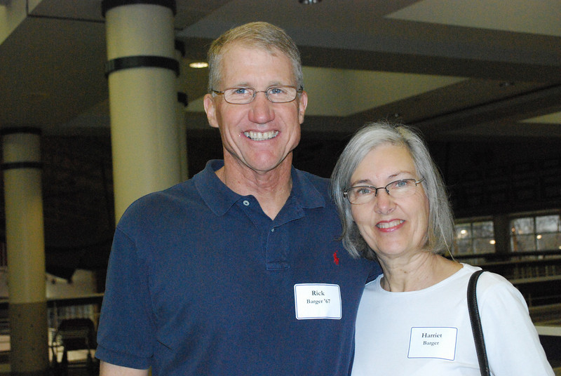 Harriet and Rick Barger '67