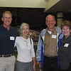 Rick Barger '67, Harriet Barger, Bill Colvin '69, Jane Colvin