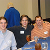 Jay Torrance '08, Mitchell Meek '10 and David Clark '09