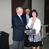 Kathy Posey was honored for her 25 years at McCallie.